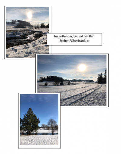 Winterlandschaft in Oberfranken